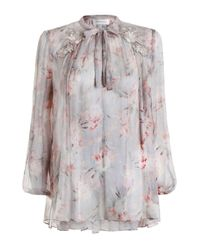 Zimmermann | Multicolor Stranded Garland Blouse | Lyst