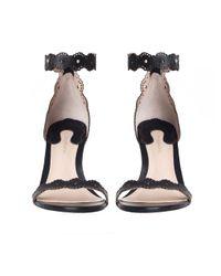 Zimmermann | Multicolor Filigree Lace Sandal | Lyst
