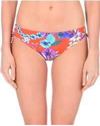 Seafolly Field Trip Bikini Briefs - For Women red - Lyst