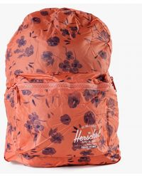 Herschel Supply Co. Packable Daypack red - Lyst