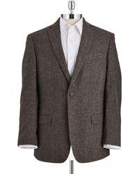 Calvin Klein Two Button Suit Coat - Lyst