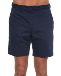 Marc By Marc Jacobs - Flat-front Cotton Shorts - Lyst