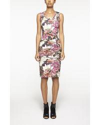 Nicole Miller Enchanted Garden Dakota Dress multicolor - Lyst