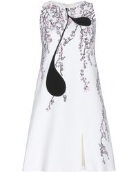 Giambattista Valli Floral-Print Crepe Dress - Lyst