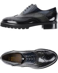Silvia Rossi Lace-up Shoes - Black