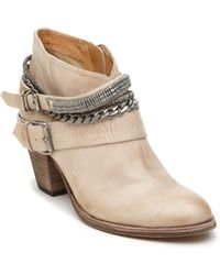 Dolce Vita Yazmin Embellished Leather Ankle Boots - Lyst