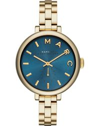 Marc By Marc Jacobs Women'S Sally Gold Ion-Plated Stainless Steel Bracelet Watch 36Mm Mbm3366 - Lyst