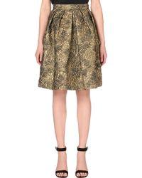 Max Mara Pianoforte Bosh Brocade A-Line Skirt - For Women - Lyst