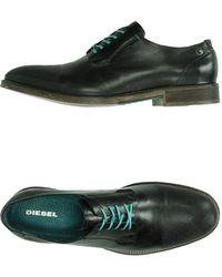 DIESEL Lace-up Shoes - Black