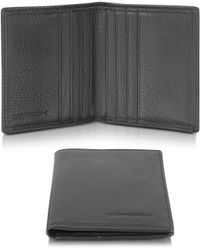 Moreschi - Genuine Leather Billfold Wallet - Lyst