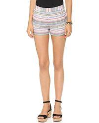 Twelfth Street Cynthia Vincent - Pleated Shorts - Multi - Lyst