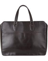 Valextra Costa 48hour Bag - Black