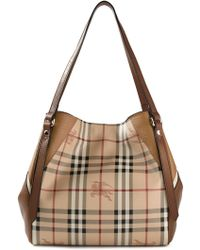 Burberry London 'House Check' Tote Bag - Lyst
