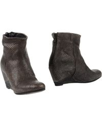 Primabase Ankle Boots gray - Lyst