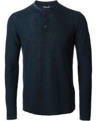 Giorgio Armani Loose Fit Sweater - Lyst