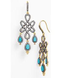 Freida Rothman 'Femme' Chandelier Earrings - Lyst