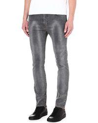 Levi's 510 Slimfit Skinny Jeans Grey - Lyst