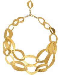 Herve Van Der Straeten Goldplated Multi Layer Necklace - Lyst