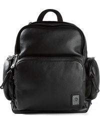 Diesel Black Parakute Backpack - Lyst