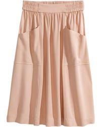 H&M Knee-Length Skirt - Lyst