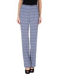 Tory Burch Casual Trouser - Lyst