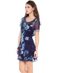 Twelfth Street Cynthia Vincent - Short Sleeve Ruffle Dress - Lyst
