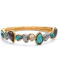 Alexis Bittar Olmeca Stacking Bracelet gold - Lyst