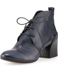 CoSTUME NATIONAL - Lace-up Leather Chukka Boot - Lyst