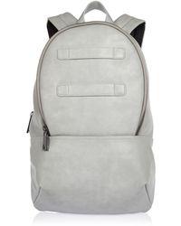 River Island Gray Backpack