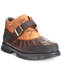 Polo Ralph Lauren Dover Boots brown - Lyst