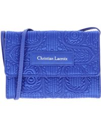 Christian Lacroix Blue Underarm Bags - Lyst
