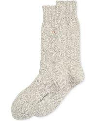 Calvin Klein Mens Chunky Texture Casual Crew Socks - Lyst