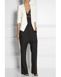 Elie Saab - Georgette and Lace Camisole - Lyst