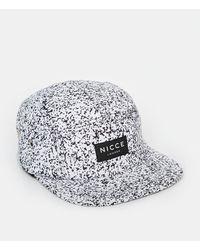 Nicce London Nicce Speckle 5 Panel Cap - Black