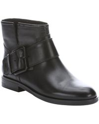 Sigerson Morrison Black Leather Suna Ankle Boots - Lyst