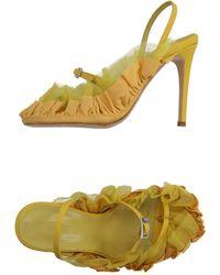 Acne Studios Sandals - Yellow