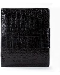 Anne Sisteron - Crocodile Ipad Case - Lyst