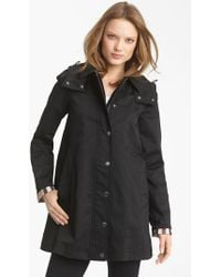 Burberry Brit - 'bowpark' Raincoat With Liner - Lyst
