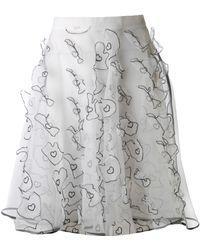 Mikio Sakabe - Transparent Skirt - Lyst