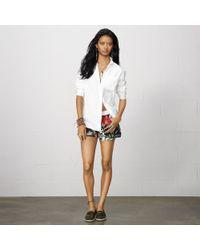 Denim & Supply Ralph Lauren Cotton Boyfriend Shirt - Lyst