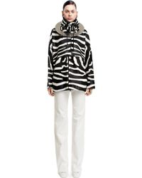 Acne Studios Tyler Animal White Zebra - Lyst