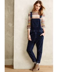 Current/Elliott Shirley Overalls - Lyst