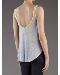 Laugh Cry Repeat Oversize Tank - Gray