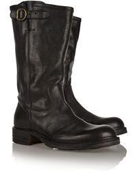 Fiorentini + Baker Bindi Distressed Leather Boots - Lyst