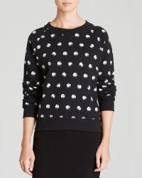 Moschino Cheap & Chic Sweatshirt - Prehistoric Pearl Print - Lyst