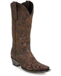 Old Gringo 'Nadia' Leather Western Boot - Lyst