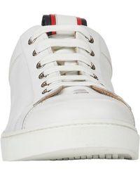 Gianvito Rossi Stripe-detail Sneakers - Lyst