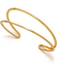 Gorjana - Tira Cuff Bracelet - Gold - Lyst