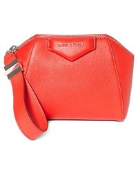 Givenchy | 'antigona' Leather Zip Pouch | Lyst