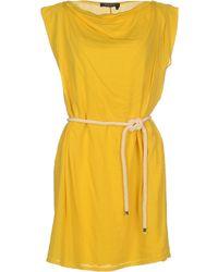 Manila Grace Short Dress - Lyst